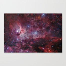 Carina Nebula of the Milky Way Galaxy Canvas Print