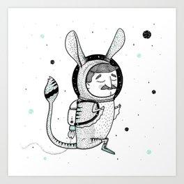 The Jerboa's Dream Art Print