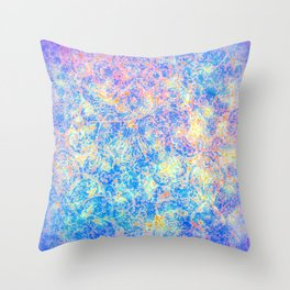 Watercolor Paisley Throw Pillow