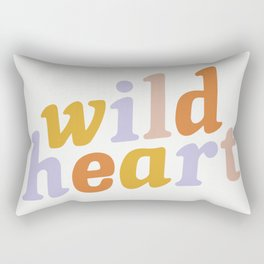 Wild Heart Rectangular Pillow