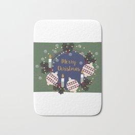 Merry Christmas Everyone Bath Mat