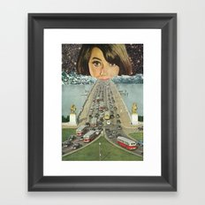 Traffic School Framed Art Print