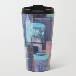 City at Dawn Travel Mug