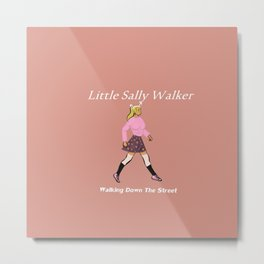 Sally Walker Metal Print