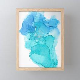 A pool of Mermaid Tears Framed Mini Art Print