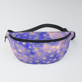 watercolor night sky Fanny Pack