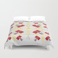 perfume Duvet Covers featuring perfume lover  by Alaasparks
