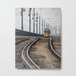 Commute. Metal Print