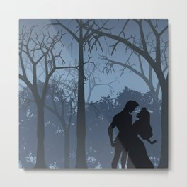 I walked with you once upon a dream (Sleeping Beauty) Metal Print