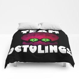 Team Octolings Comforters