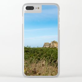 Second Fiddle Clear iPhone Case