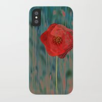 alone iPhone & iPod Cases featuring Alone by Klara Acel