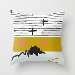 Space Theme Throw Pillow