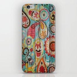 Kashmir on Wood 02 iPhone Skin