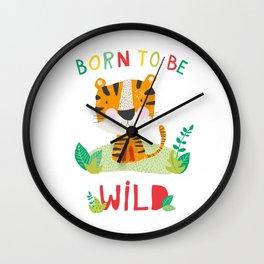 Born to Be Wild Wall Clock