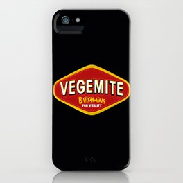 Start With Vegemite iPhone Case