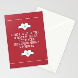 Saint Valentine's dedication Stationery Cards