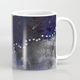 Blue and White Sassy Girl  Coffee Mug