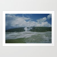 Old Faithful 2 Art Print