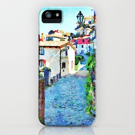 Agropoli: foreshortening iPhone Case