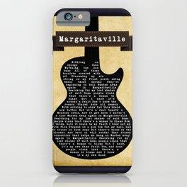 MARGARITAVILLE IYENG 6 iPhone Case