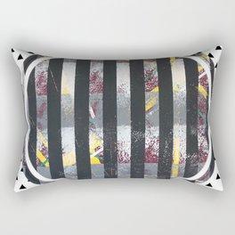 Polarised - small triangle graphic Rectangular Pillow