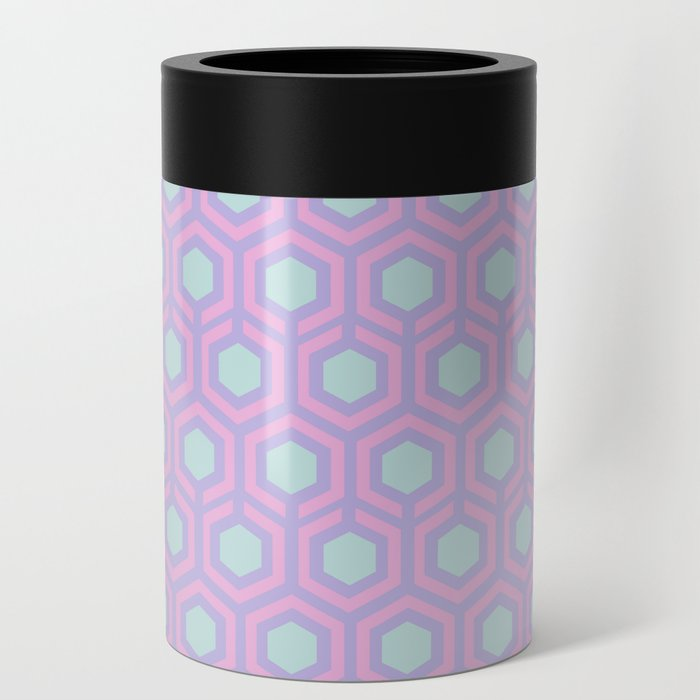 Honeycomb Lilac Can Cooler