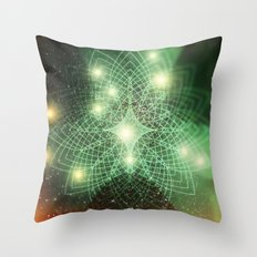 Geometry Dreaming Throw Pillow