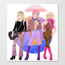 Velvet Goldmine Canvas Print