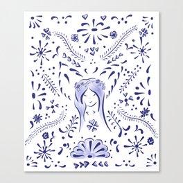 Talavera Fairy Canvas Print