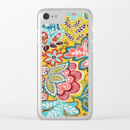 Beautiful Days Clear iPhone Case