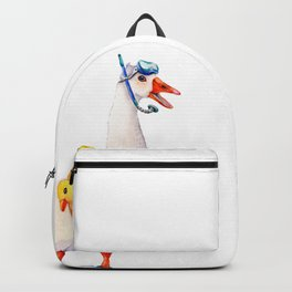 Snorkeling Goose Backpack
