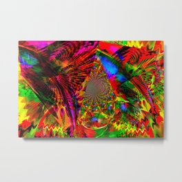 Psychedelic Kites From Another Dimension Metal Print