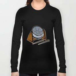 Steel Kettle Drum Long Sleeve T-shirt