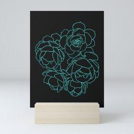 Seasons K Designs Succulent Bouquet  Mini Art Print