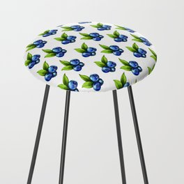 Blueberries Counter Stool