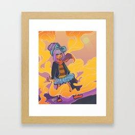 -Wind Style- Framed Art Print
