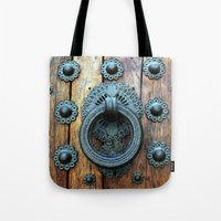 spain Tote Bags featuring Spain by Medea