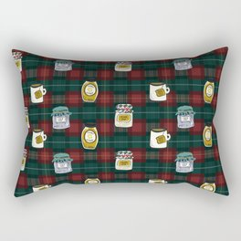 Band Jars Rectangular Pillow