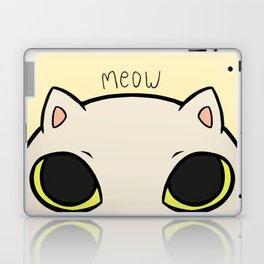 Meow - Yellow Laptop & iPad Skin