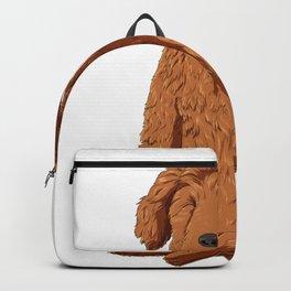 Yoga Golden Doodle Backpack