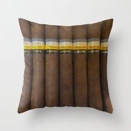 Cuban Cohibas Throw Pillow