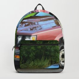 Rare 1987 GM Rose colored Grand National Regal T-Type Turbo Backpack