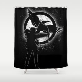 The Mockingjay. Shower Curtain