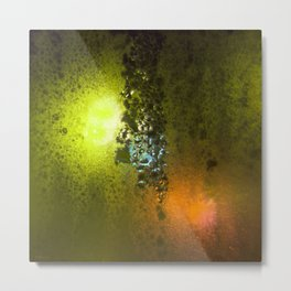 Condensation 08 - Saga   Citrus Metal Print