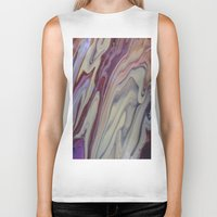marble Biker Tanks featuring MARBLE by ..........