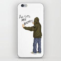 All Cops Are Bastard !!! iPhone & iPod Skin