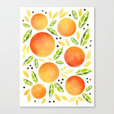 Orange You Glad Canvas Print