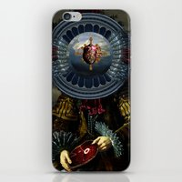 regina mills iPhone & iPod Skins featuring Steak Regina by DIVIDUS