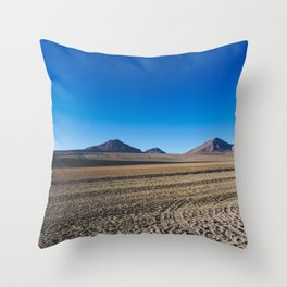 Salvador Dalí Desert, Bolivia Throw Pillow